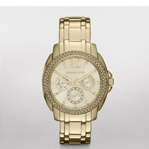 Michael Kors Gold Tone Watch Cameron 5691 Watch